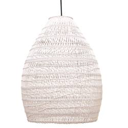 Firth rattan shade whitewash large