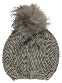 Buy Wool & fur beanie in NZ New Zealand.