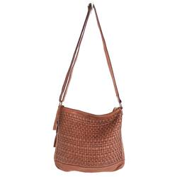 Juju & Co woven hobo slouchy bag