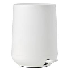 Buy Nova pedal bin white in NZ New Zealand.