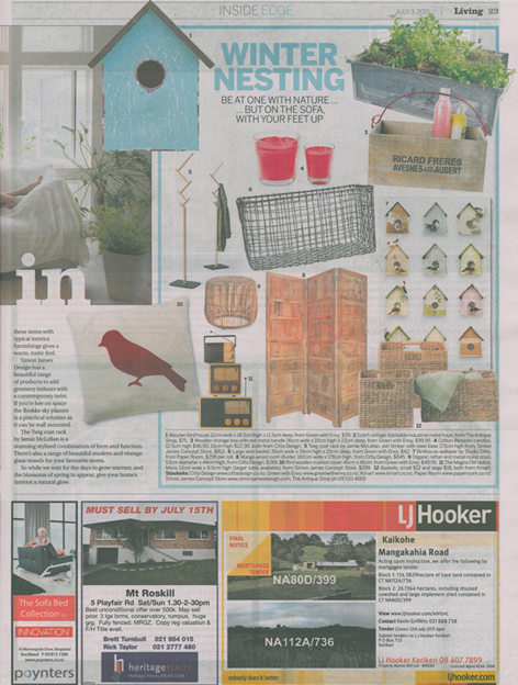 Herald on Sunday Living 03 July - pg 23 lr